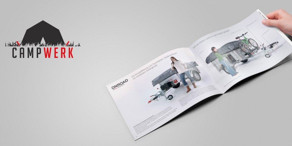 Broschüre für CAMPWERK